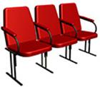 Скамейки, кресла для актового зала