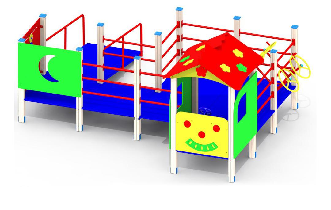 Игровые комплексы и элементы для детей с ОФМ