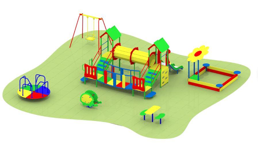 Готовые детские площадки