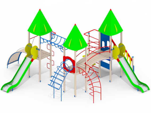 Детские площадки в наличии